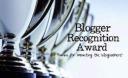 3 Blogger Recognition Award / Eartesano (06.04.16) - José Ángel Ordiz (10.06.16) - Unas horas de luz (18.07.16)