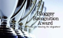 6 Blogger Recognition Award / Eartesano (06.04.16) - José Ángel Ordiz (10.06.16) - Unas horas de luz (18.07.16) - Themis (26.08.16) - Sigo aquí (21.07.18) - Esther Vázquez (01.08.18)